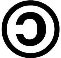 Logo del copyleft.