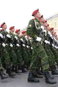 Russian troops ready to march on Washington!