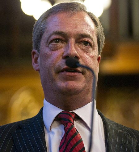 Nigel Farage, nut-job and venerable leader of Ukip