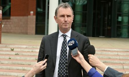 Tory MP Nigel Evans.  Not a rapist, historic or historical...