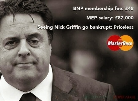 Nick Griffin goes bankrupt