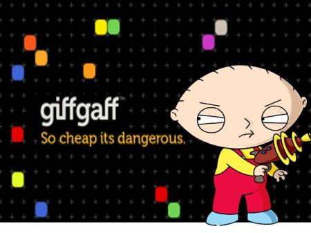 Giffgaff... so inexpensive, even diabolical infant geniuses use it!