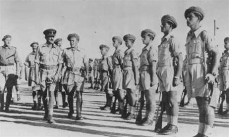 Jewish Brigade 'terrorists'