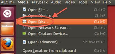 vlc-open-disc