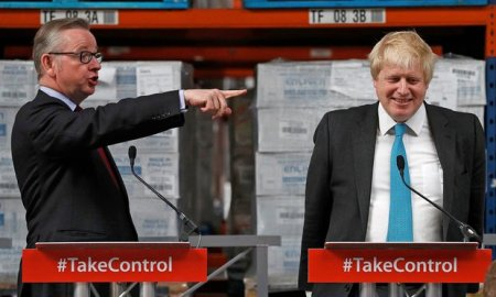 "Gove: ""You're a liar, Boris!"" Johnson: ""Aren't we all...?"""