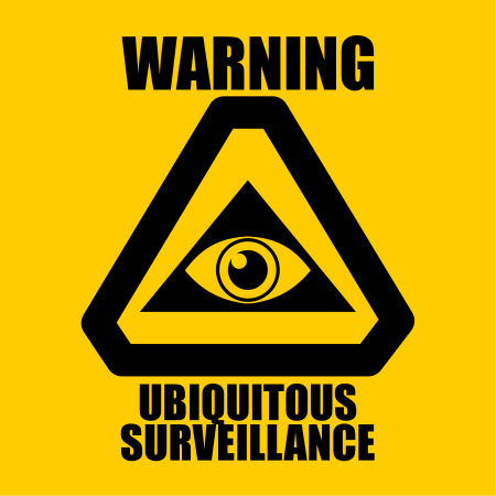 Warning-Ubiquitous-Surveillance