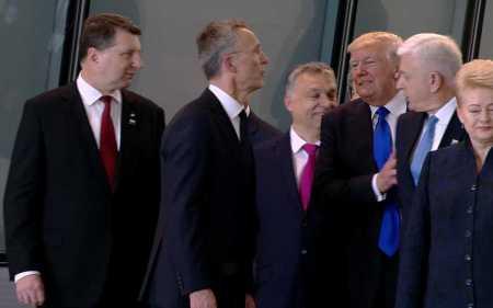 NATO summit--Trump-shoves-Markovic